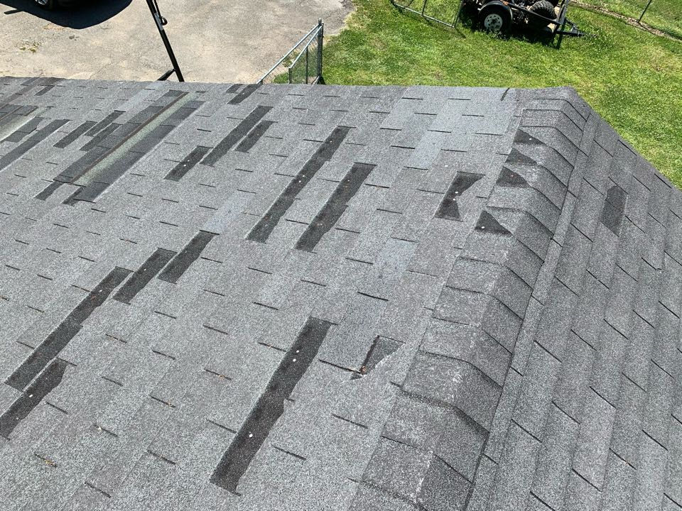 Odenville, AL - Measured to replace three tab shingle roof.