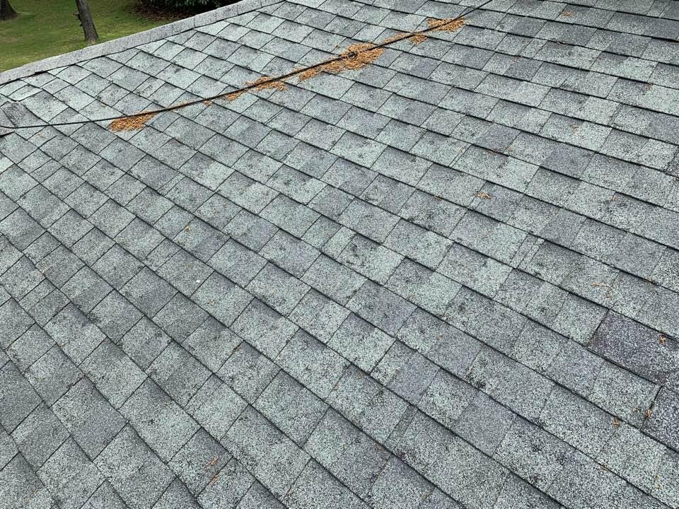 Vestavia Hills, AL - Measured to replace dimensional shingle roof.
