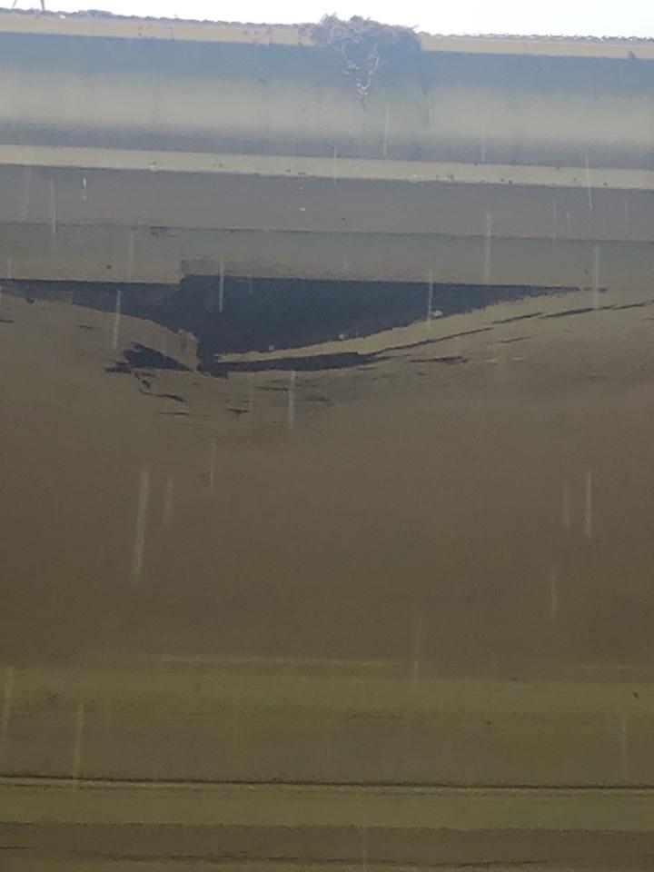 Vestavia Hills, AL - Replace damaged soffit