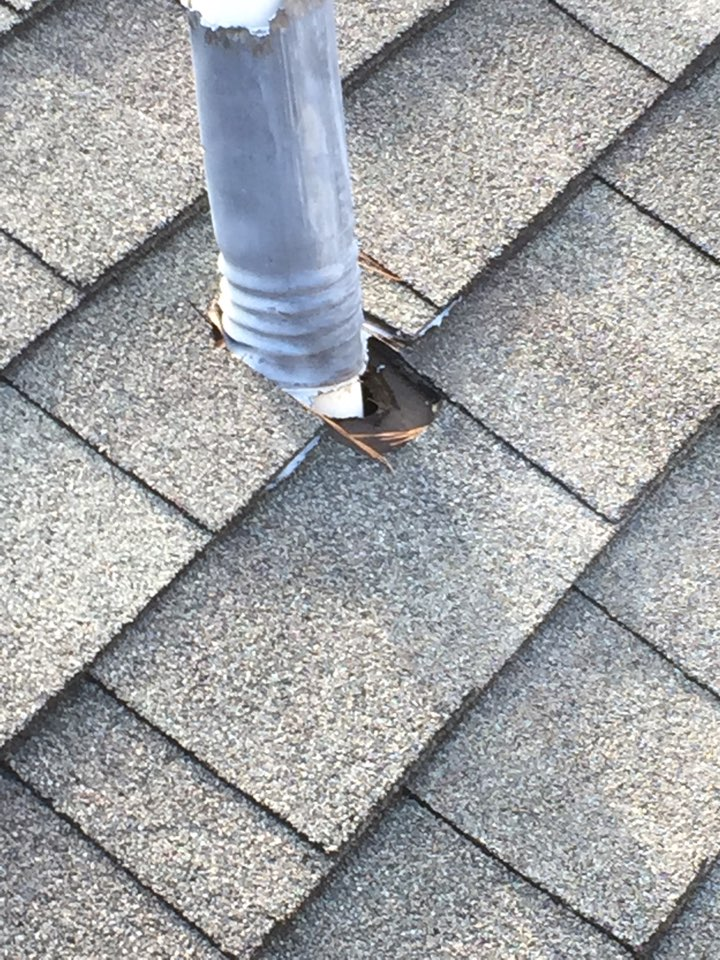 Birmingham, AL - Checking for roof leaks at vent pipes