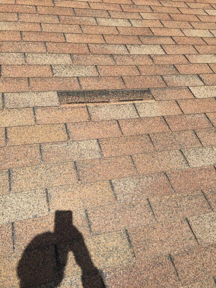 Birmingham, AL - Estimate for repairing a roof leak