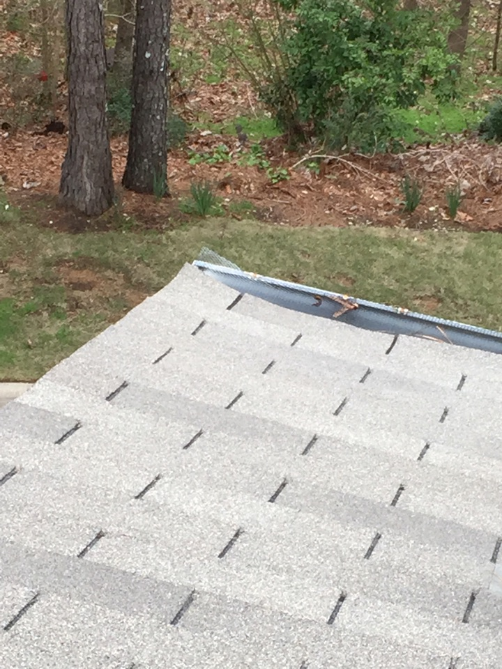 Hoover, AL - Estimate for repairing the roof where squirrels are getting in