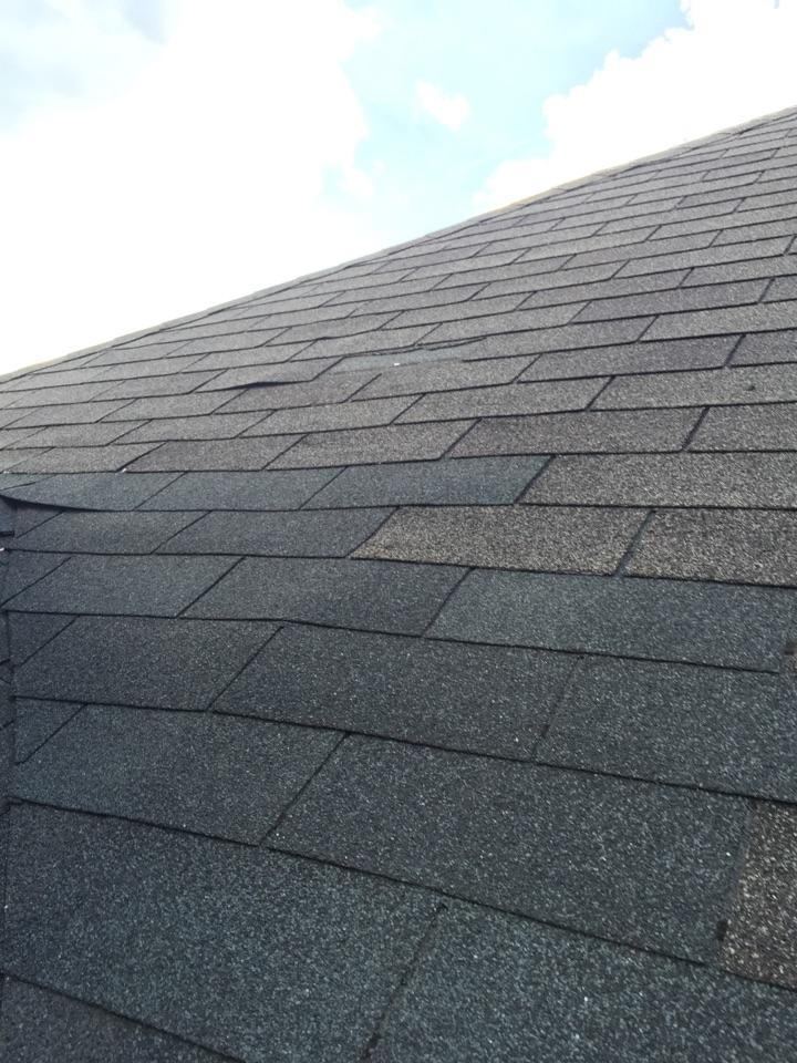 Vestavia Hills, AL - Checking for missing shingles on the roof