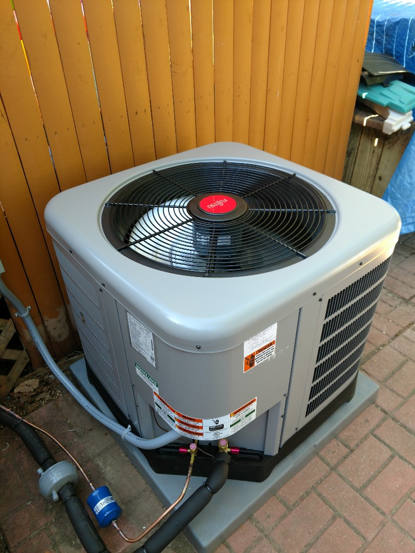 Toms River, NJ - Install new Fujitsu / Ruud 3 ton air conditioning unit in Tom's River NJ