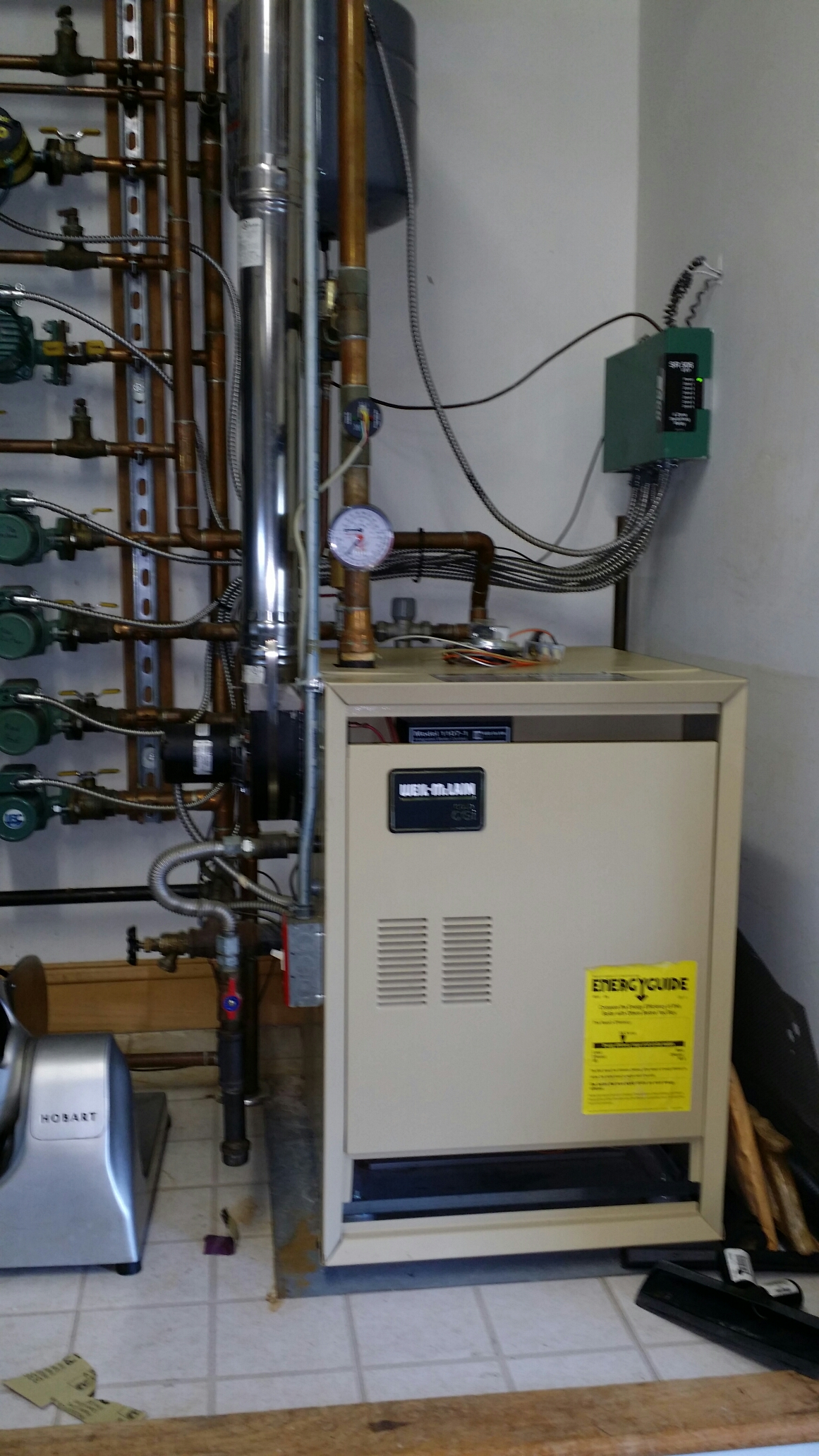 Toms River, NJ - Boiler repair. Repair pressure switch on Weil Mclain CGI gas fired boiler in Green Island area of Toms River NJ