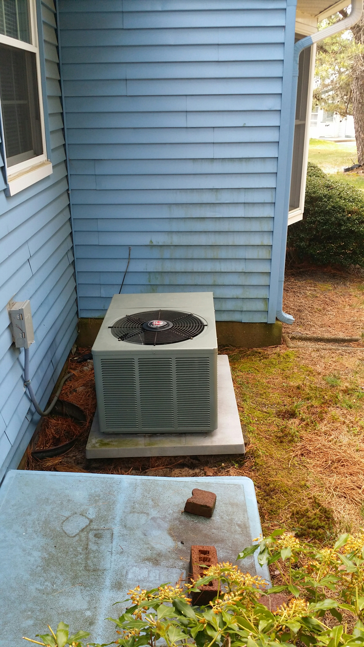 AC maintenance call on a Rheem / Ruud air conditioner in Crestwood Village Whiting