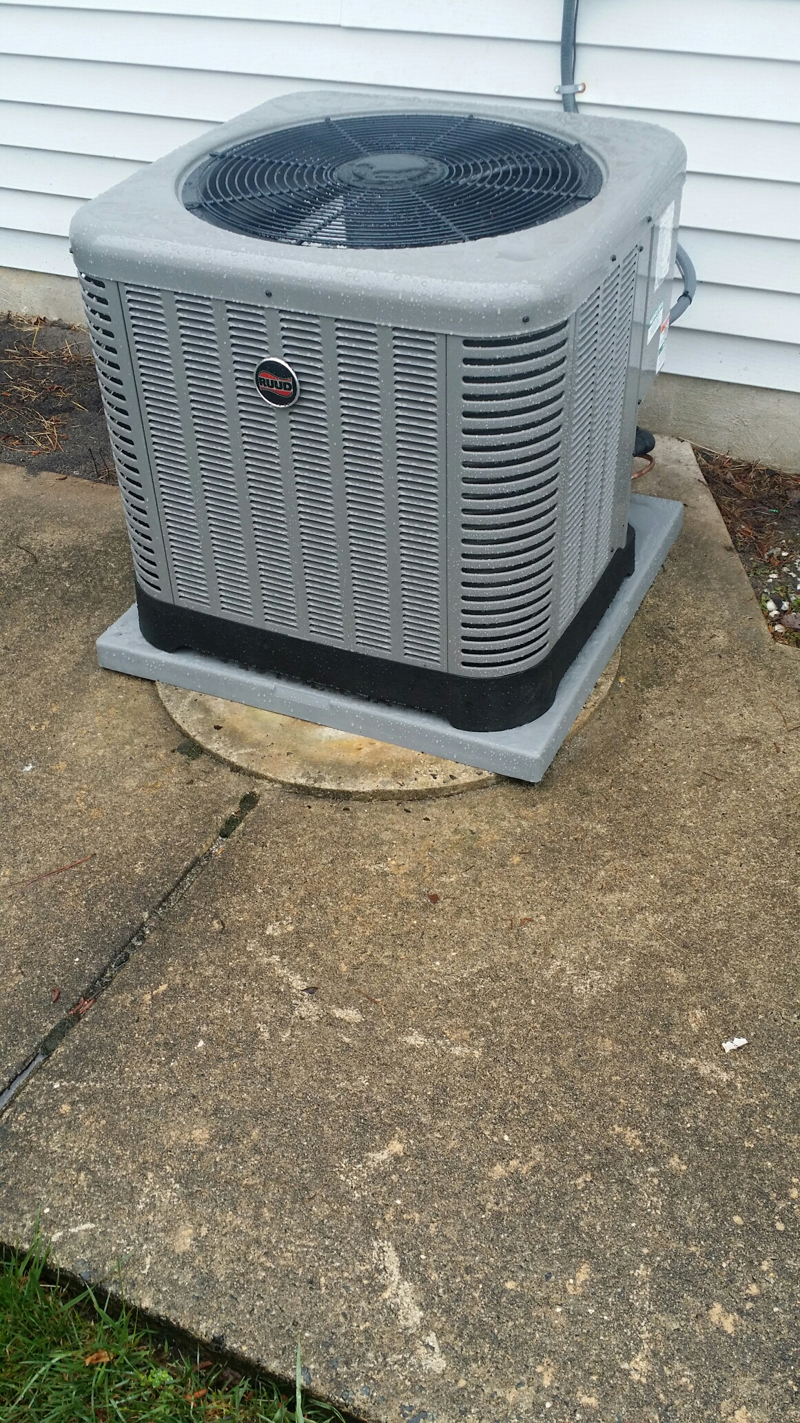 #816F4A Furnace Repair And Air Conditioner Repair In Toms River NJ 2017 13902 Ruud Central Air Conditioner photo with 1161x2064 px on helpvideos.info - Air Conditioners, Air Coolers and more