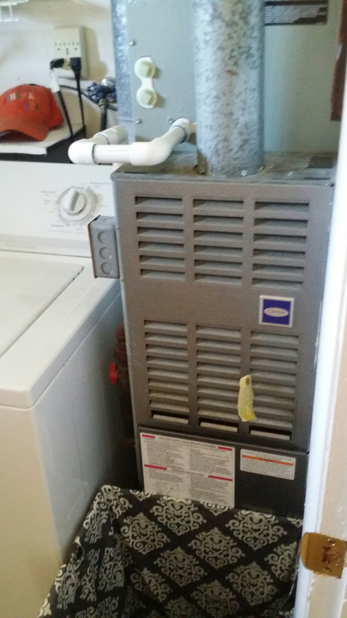 Brick, NJ - Carrier gas furnace maintenance and tune up