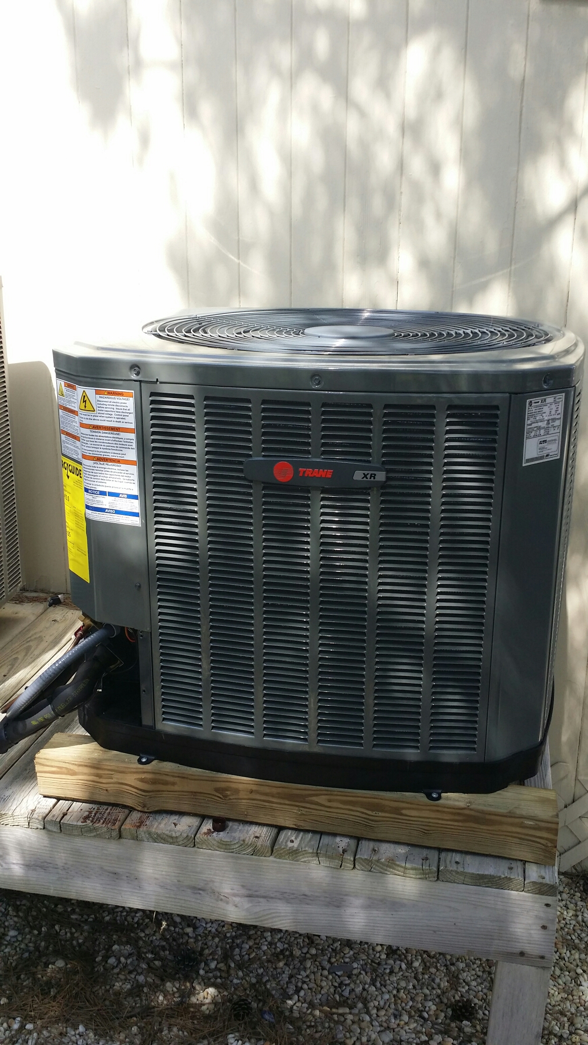Beach Haven, NJ - Install new Trane XR14 heat pump