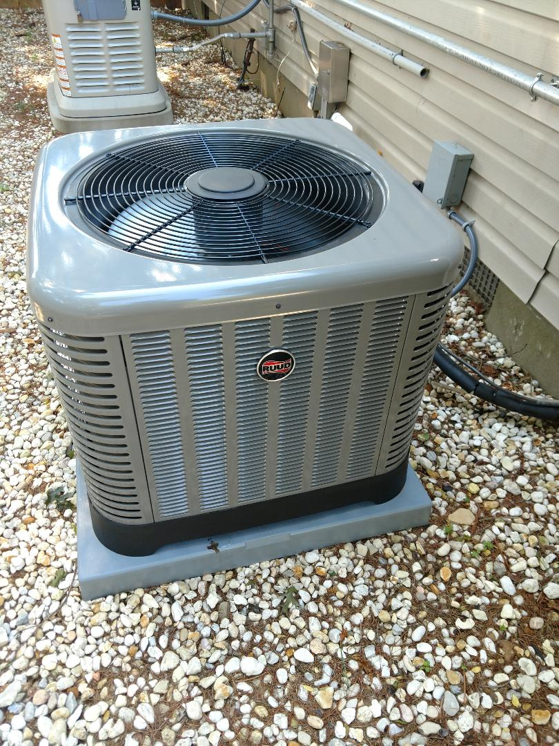 Brick, NJ - Install ruud ra13 air conditioner