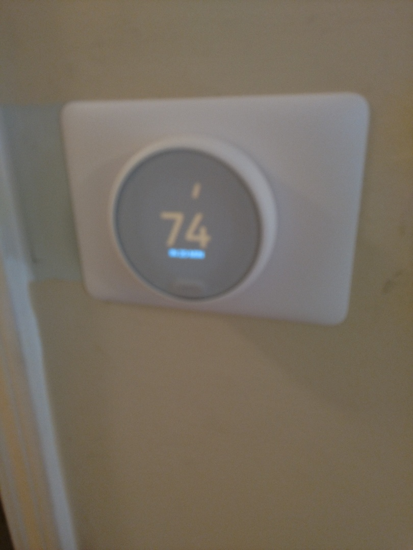 Install new nest wifi thermostat