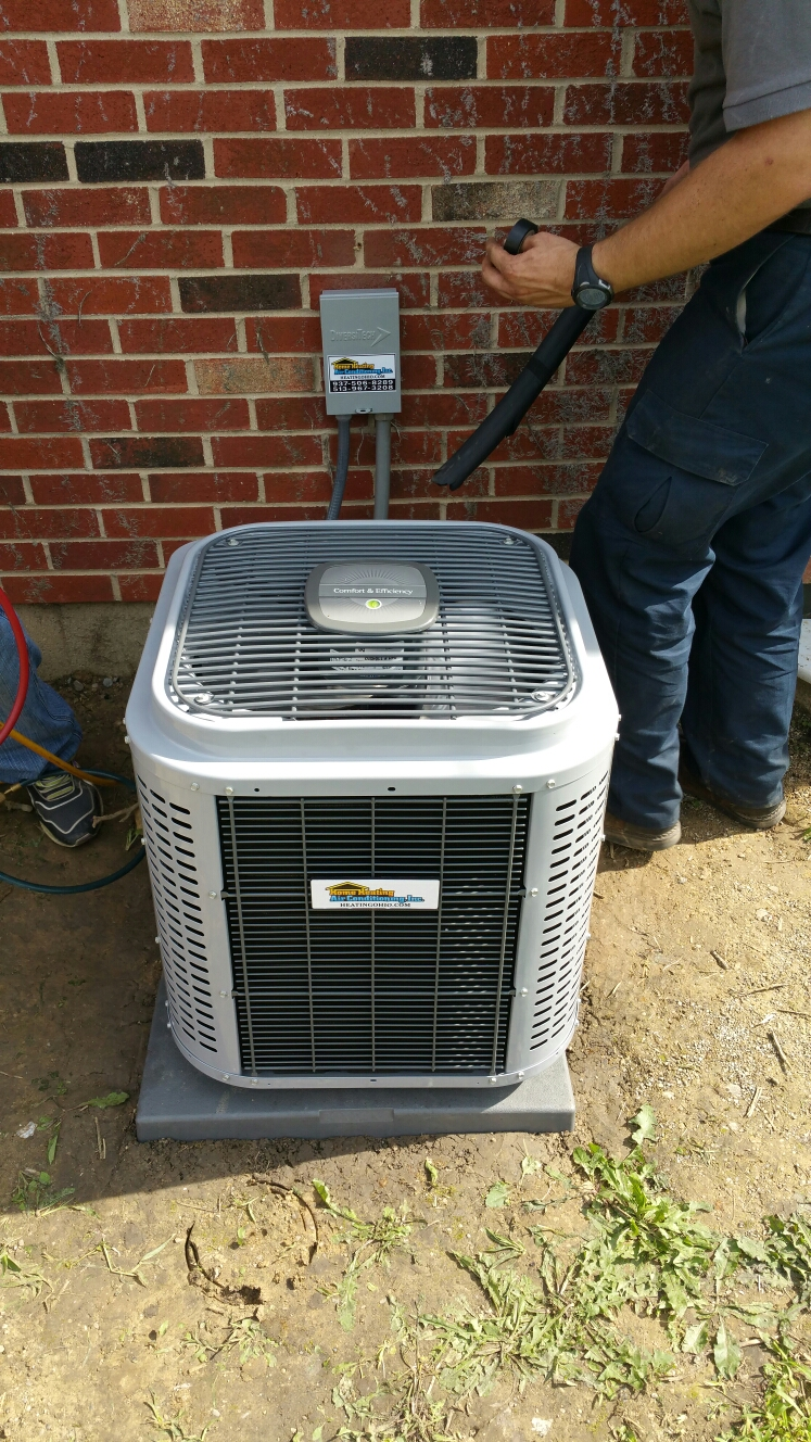 Springfield, OH - Install new air conditioning