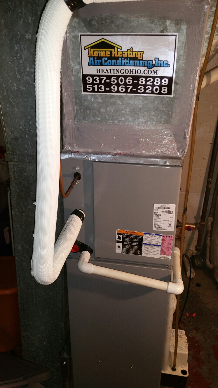 Springfield, OH - Install 95% furnace and 16 seer air conditioning