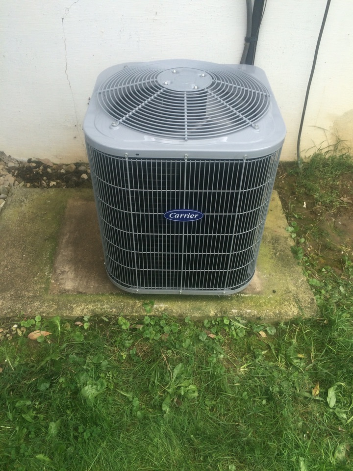 Kettering, OH - Installed a new carrier air-conditioning system