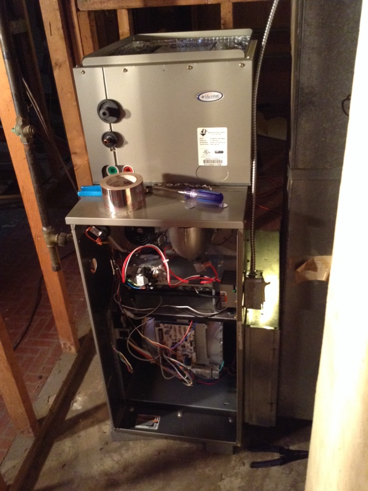Fairborn, OH - Installing furnace and a/c