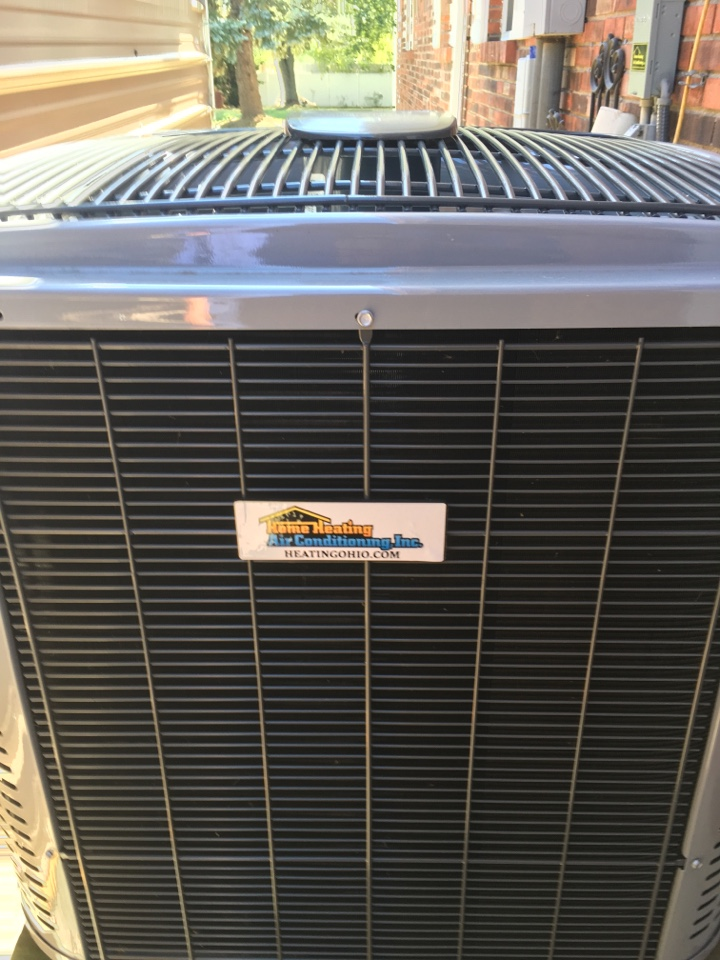 Hamilton, OH - Preventive maintenance on a Home Heating heat pump system