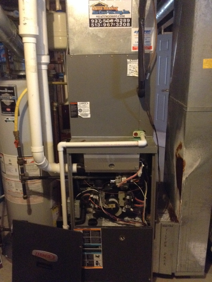 Fairborn, OH - Furnace tune up