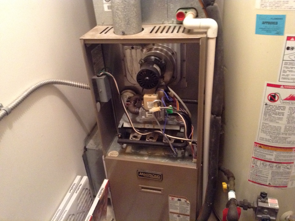 Vandalia, OH - Furnace cleaning..