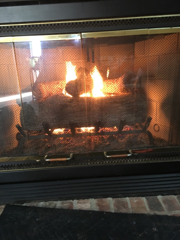 Miamisburg, OH - Servicing a gas fireplace