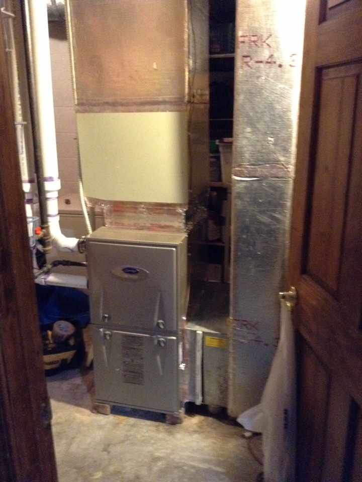 Springfield, OH - Installing 2 new carrier 96% furnaces