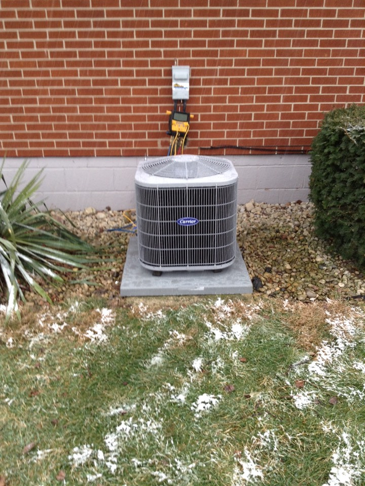 Springfield, OH - Install a new furnace and air conditioning in Springfield Ohio