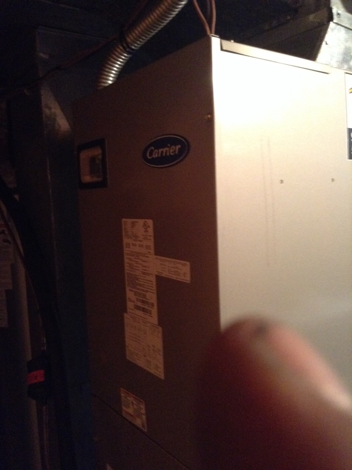 Hamilton, OH - Installing new heat pump air handler and Whole home humidifierer