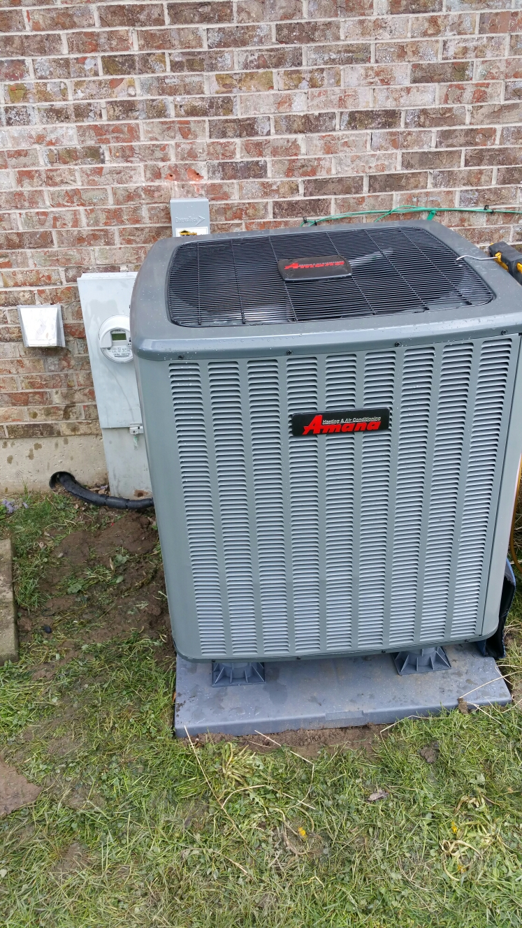Fairborn, OH - Installed heat pump and air handler