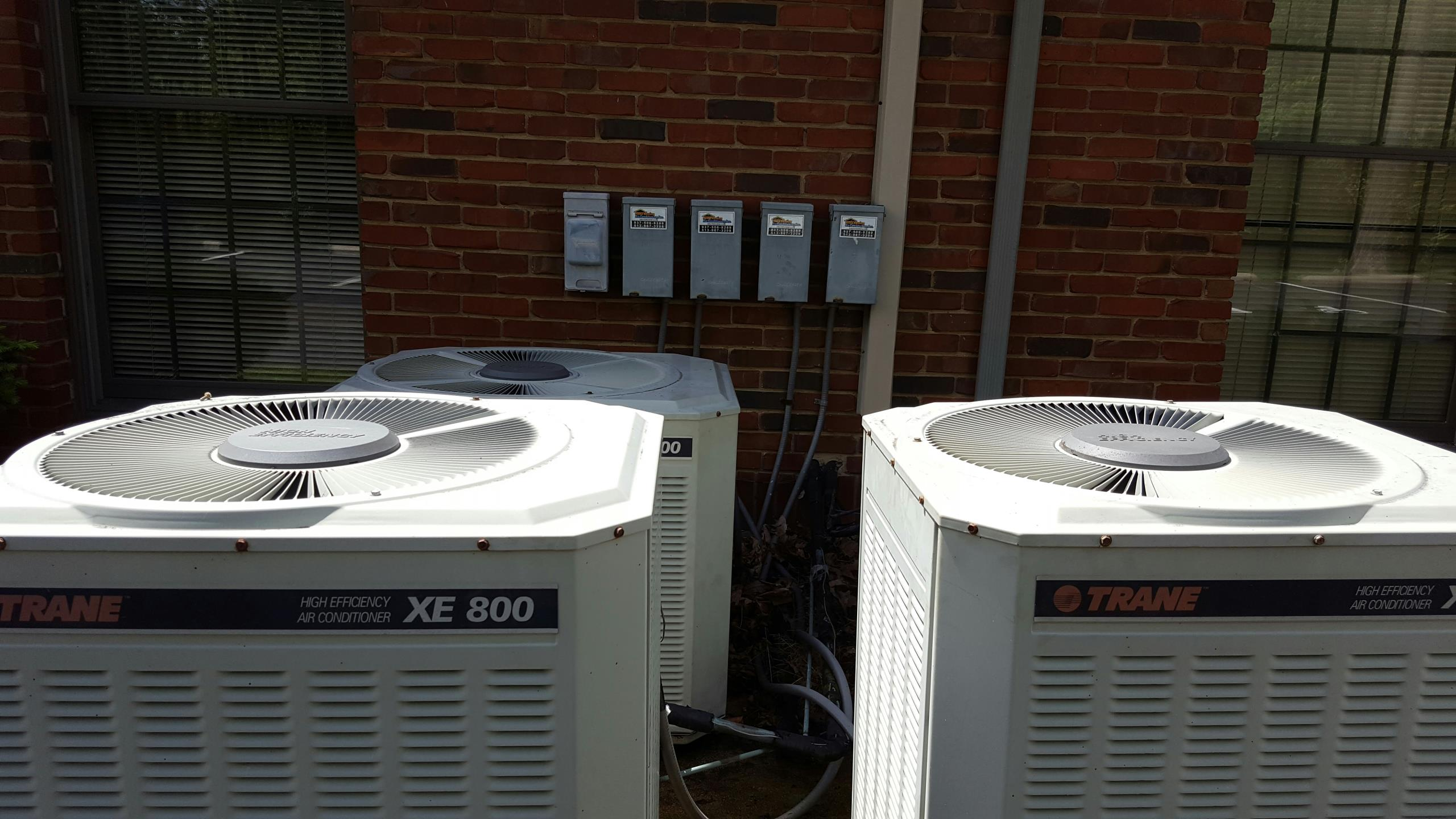Vandalia, OH - Trane a/c tuneup up and maintenance