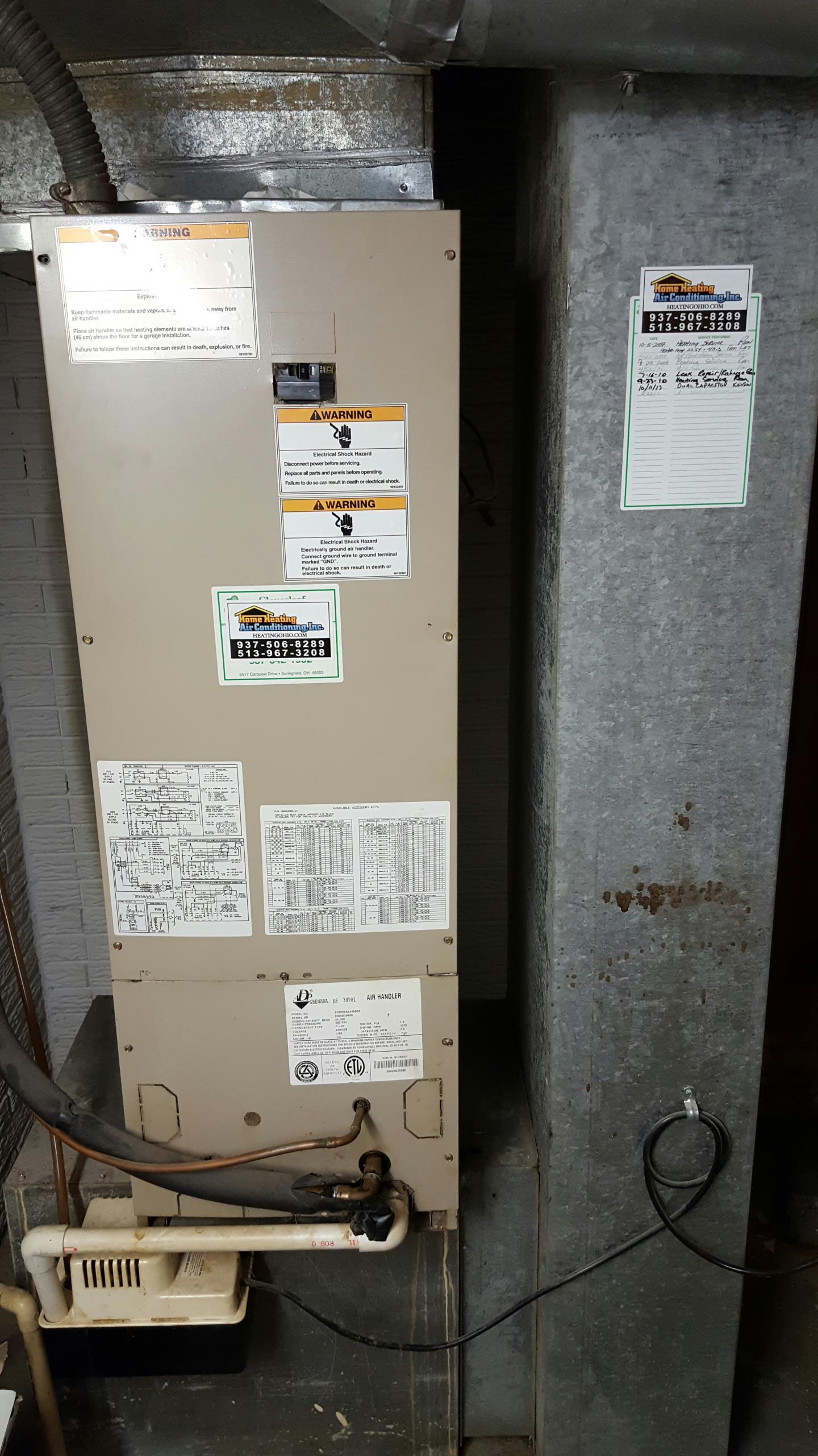 Springfield, OH - Heat pump