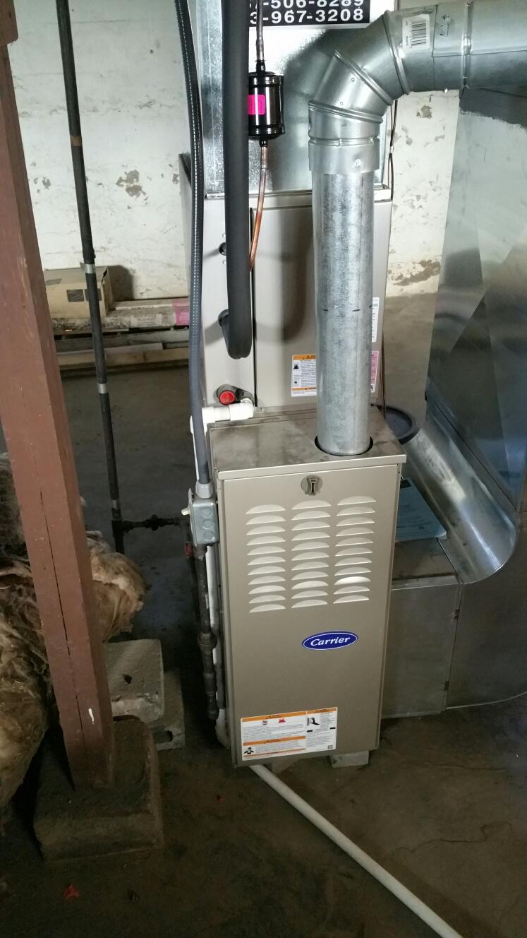 Hamilton, OH - Install furnace