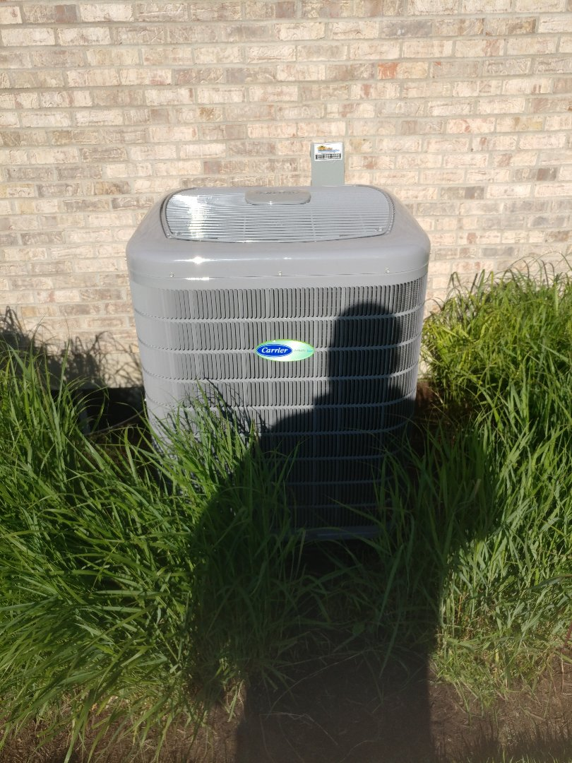 Tipp City, OH - Install a carrier infinity air conditioner and furnace