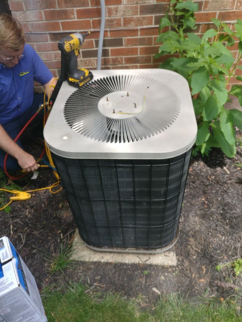 Dayton, OH - Install new compressor