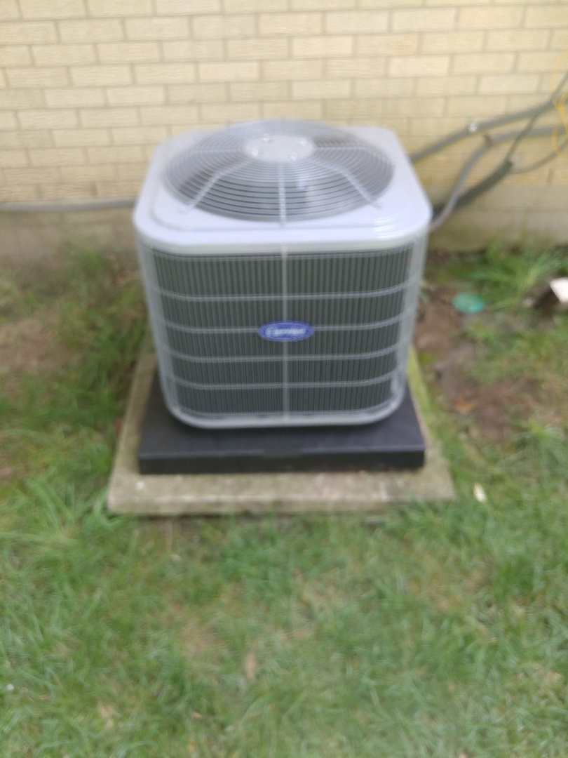 Dayton, OH - Install 13 Seer Carrier Air Conditioner 80% Carrier Furnace