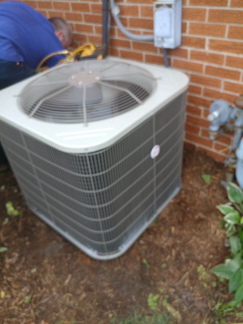 Centerville, OH - Install payne air conditioner and coil