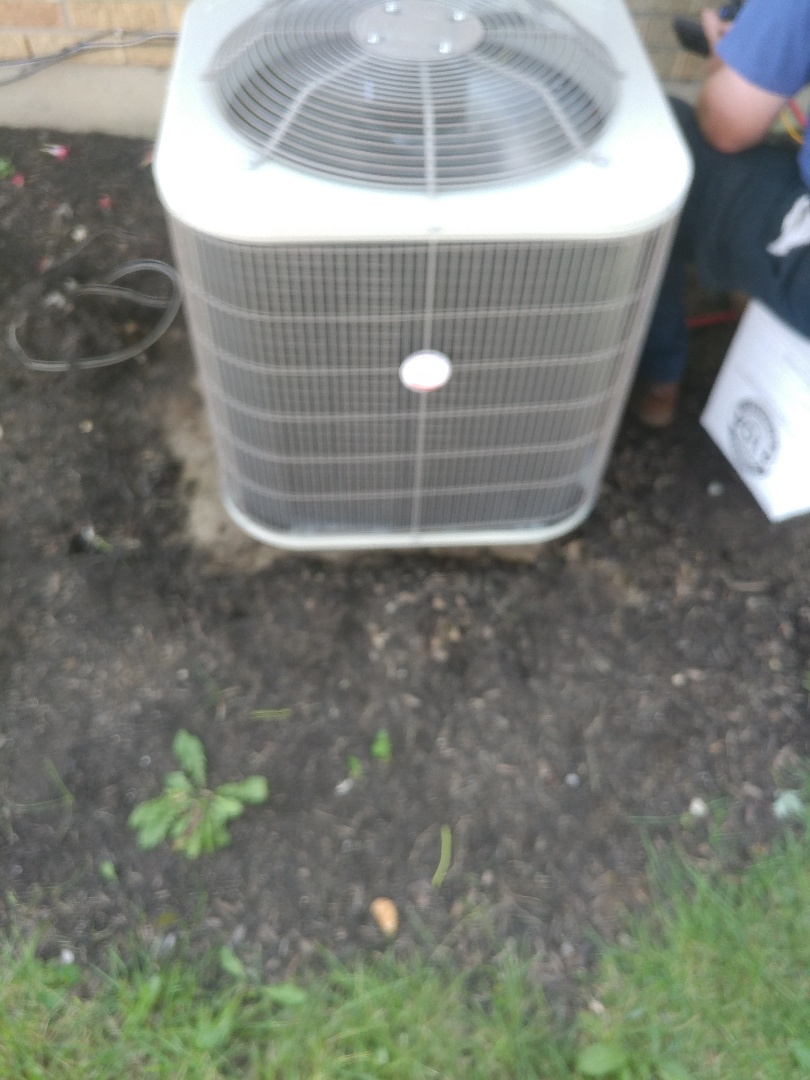 Vandalia, OH - Install payne air conditioner and new coil