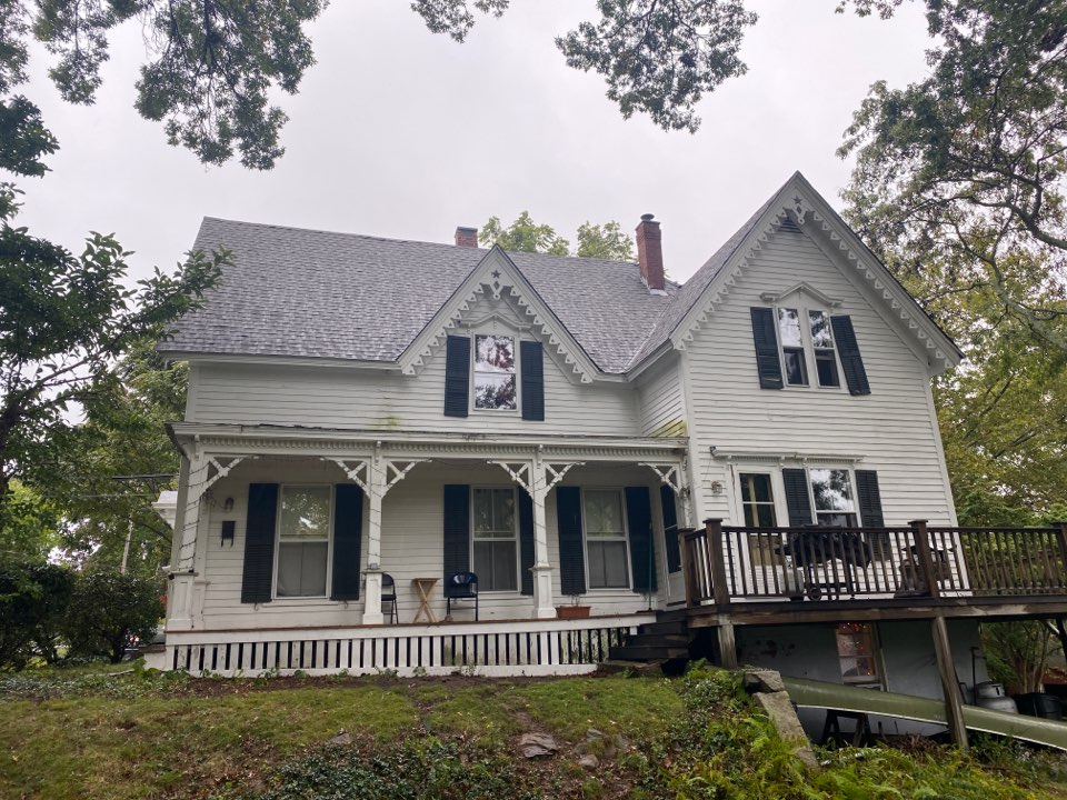 Groton, CT - New GAF HDz shingles roof in historic downtown mystic CT!