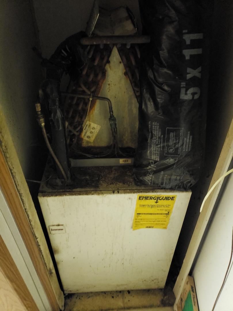 Rogersville, AL - Re wired heat strips.