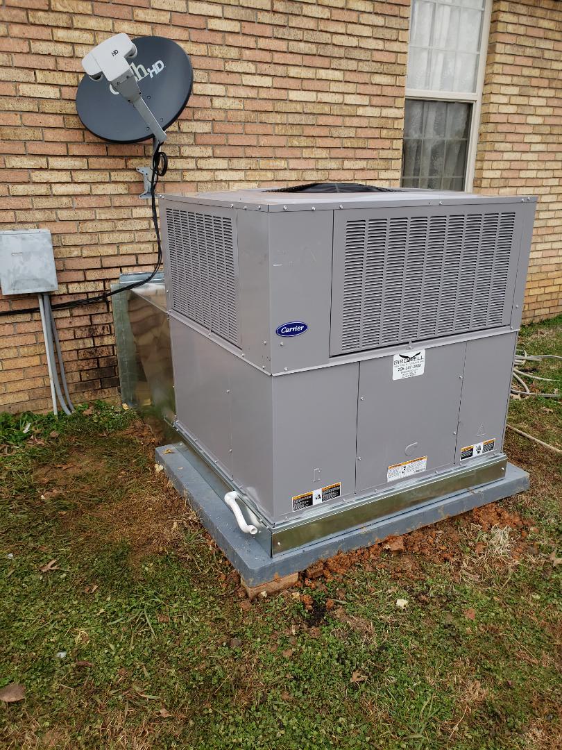 Rogersville, AL - Rogersville al install new central unit