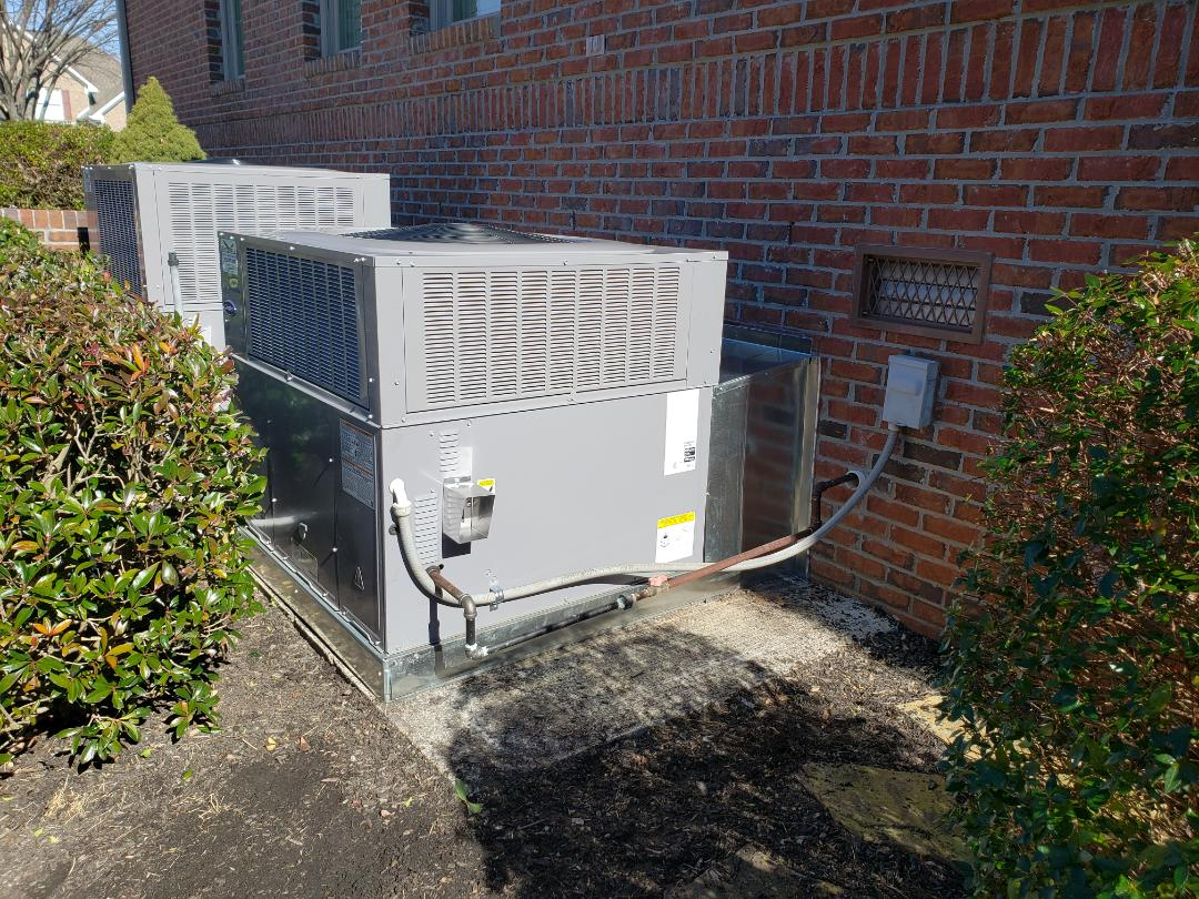 Madison, AL - Huntsville al, installed two new central units