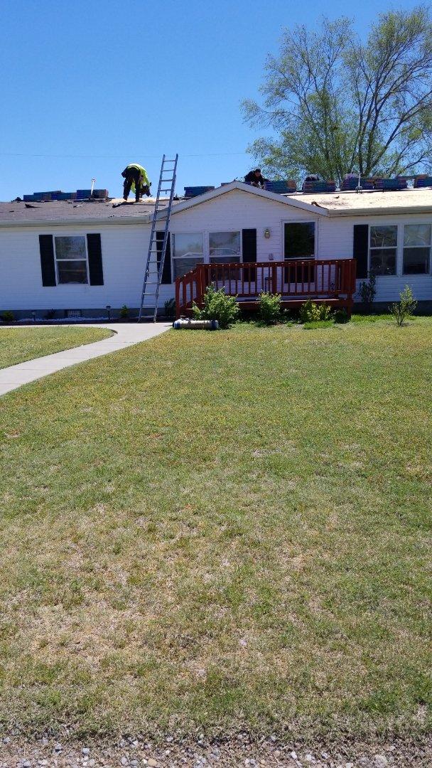 Wichita, KS - Roofing residential house