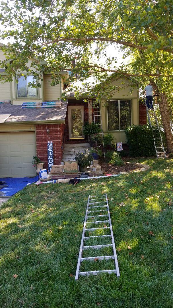 Wichita, KS - New roof replacement job in Wichita.