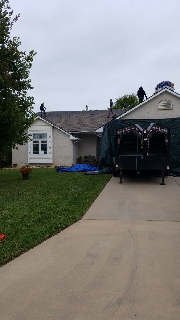 Augusta, KS - Roofing residential property