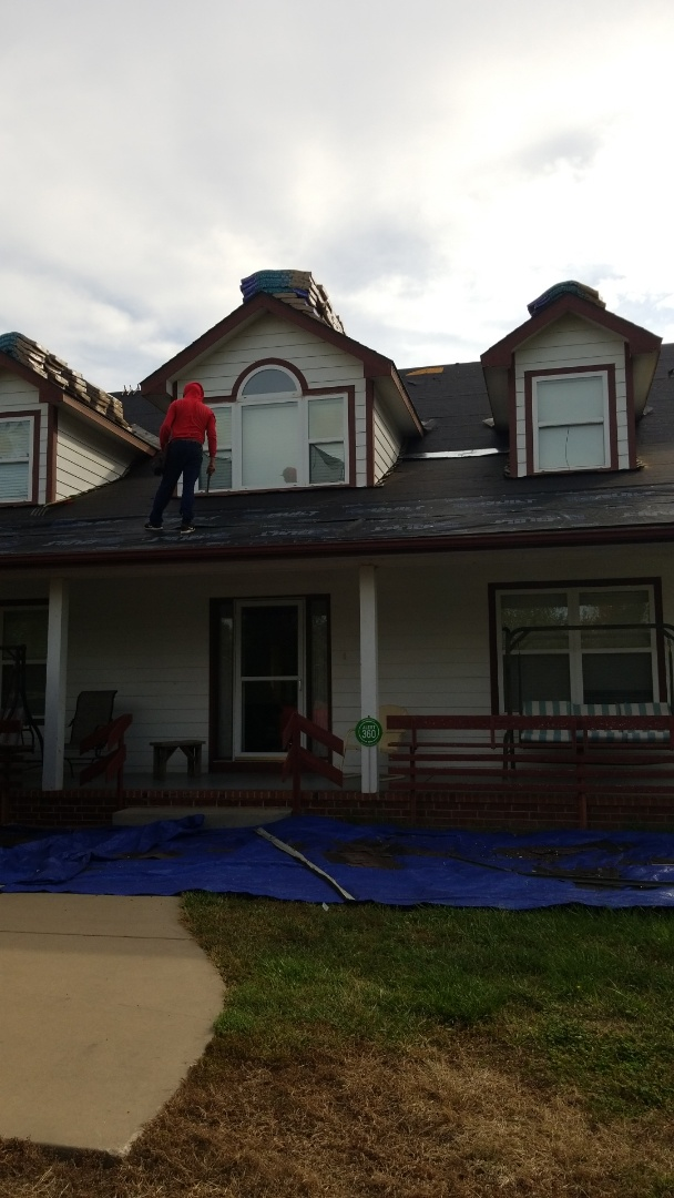Augusta, KS - Roofing residential property and construction