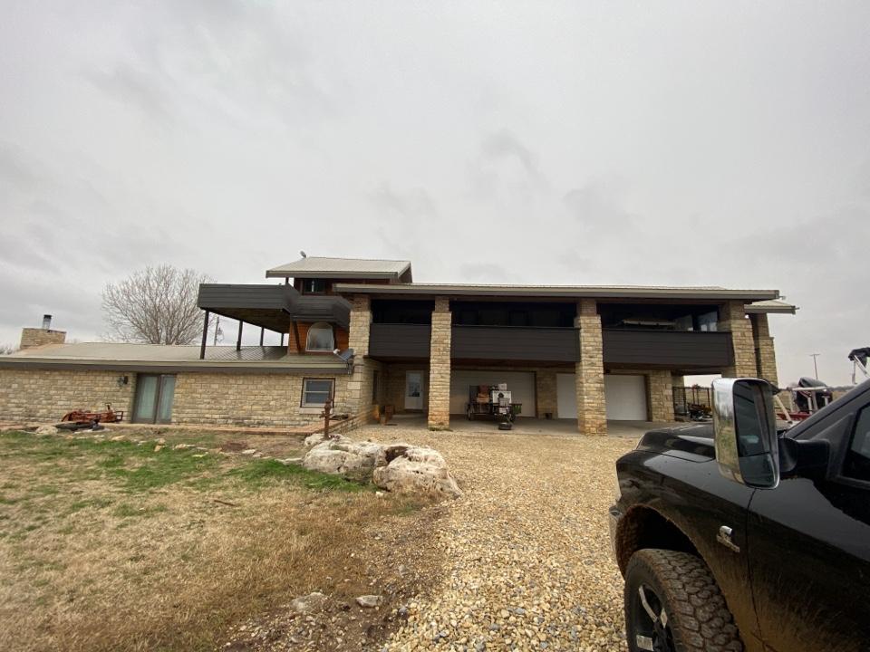 El Dorado, KS - Roof inspection for roof replacement of metal roof. El Dorado KS 67042