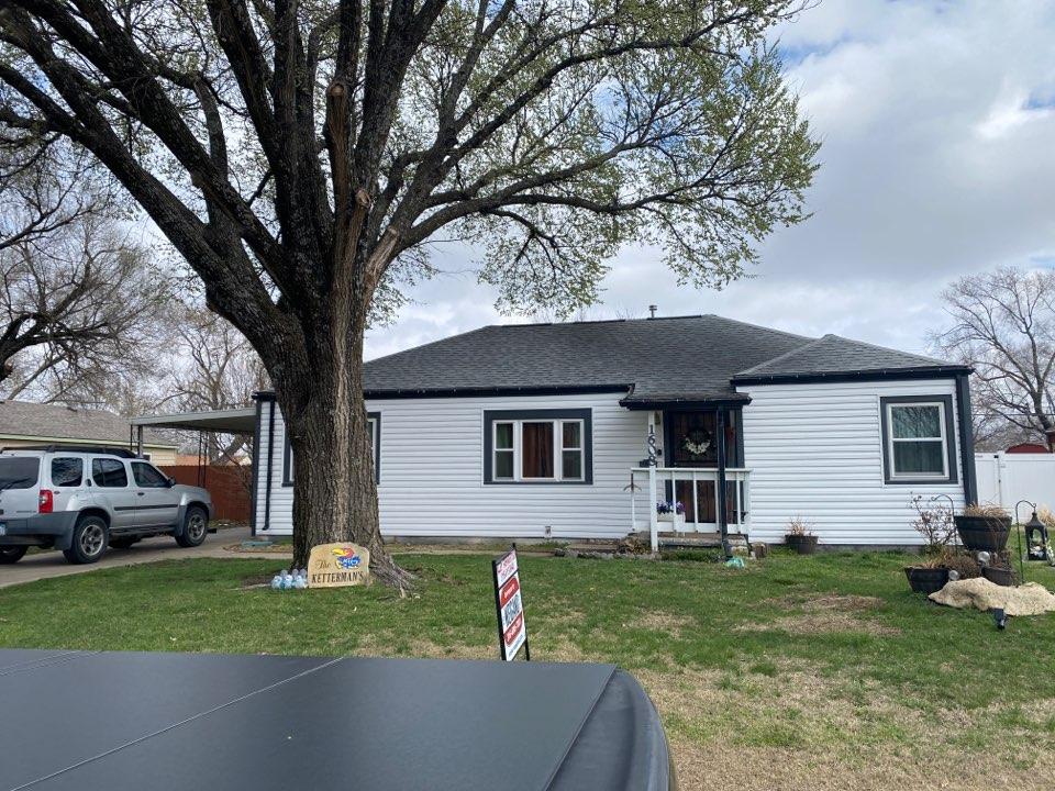 Augusta, KS - Roof inspection/estimate for insurance claim. Augusta KS 67010