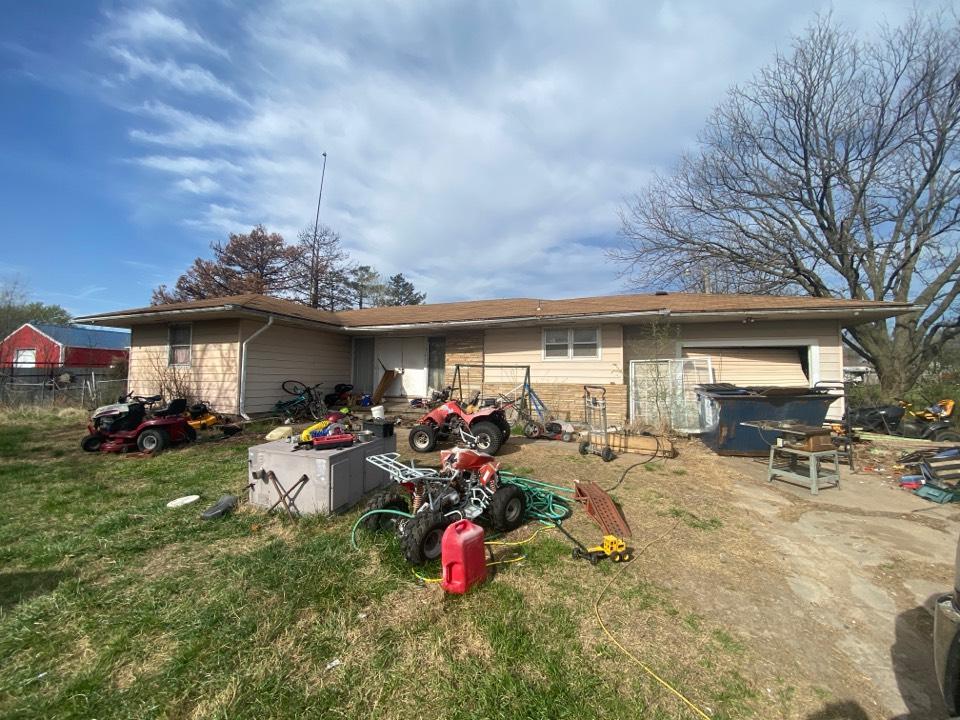 Winfield, KS - Roof inspection wind storm and rain Winfield ks