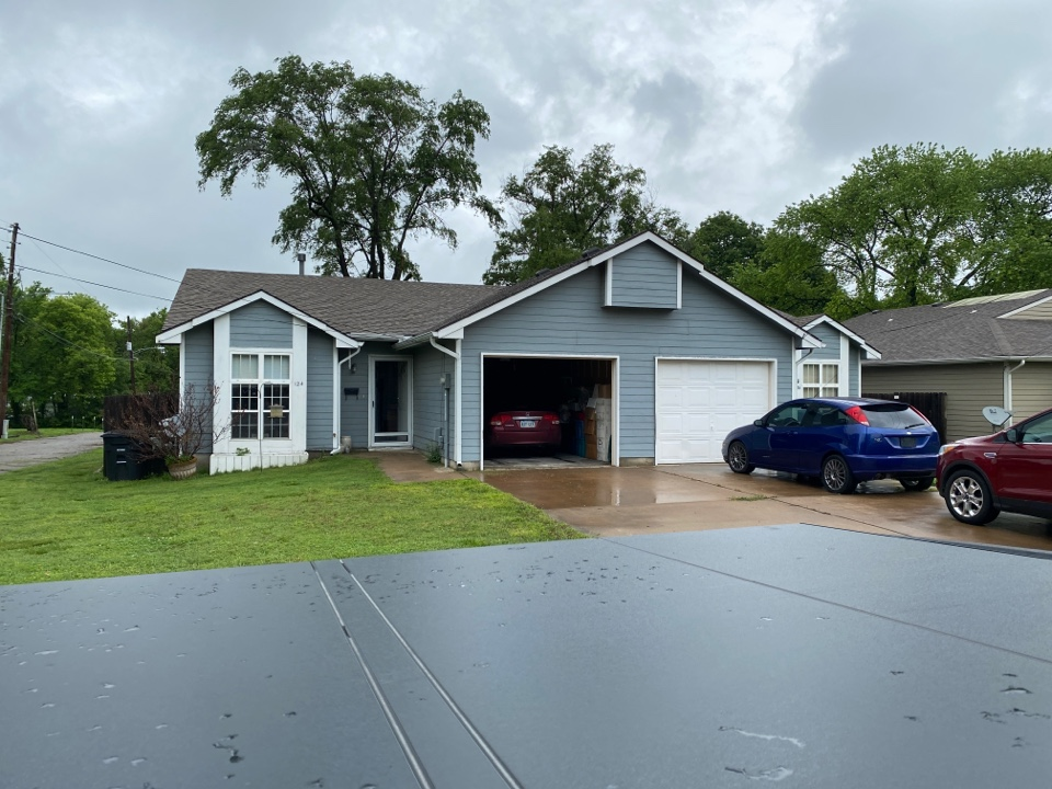 Augusta, KS - Siding inspection for estimate to replace rotten siding
