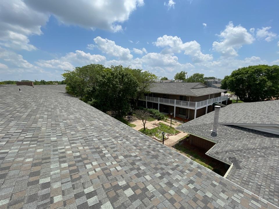 Wichita, KS - Roof inspection on nursing home Tamko Thunderstorm Grey