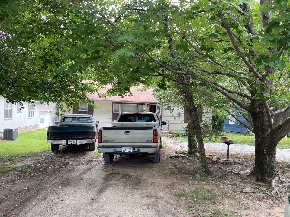 Arkansas City, KS - Roof inspection for leaking roof. 3 tab shingle