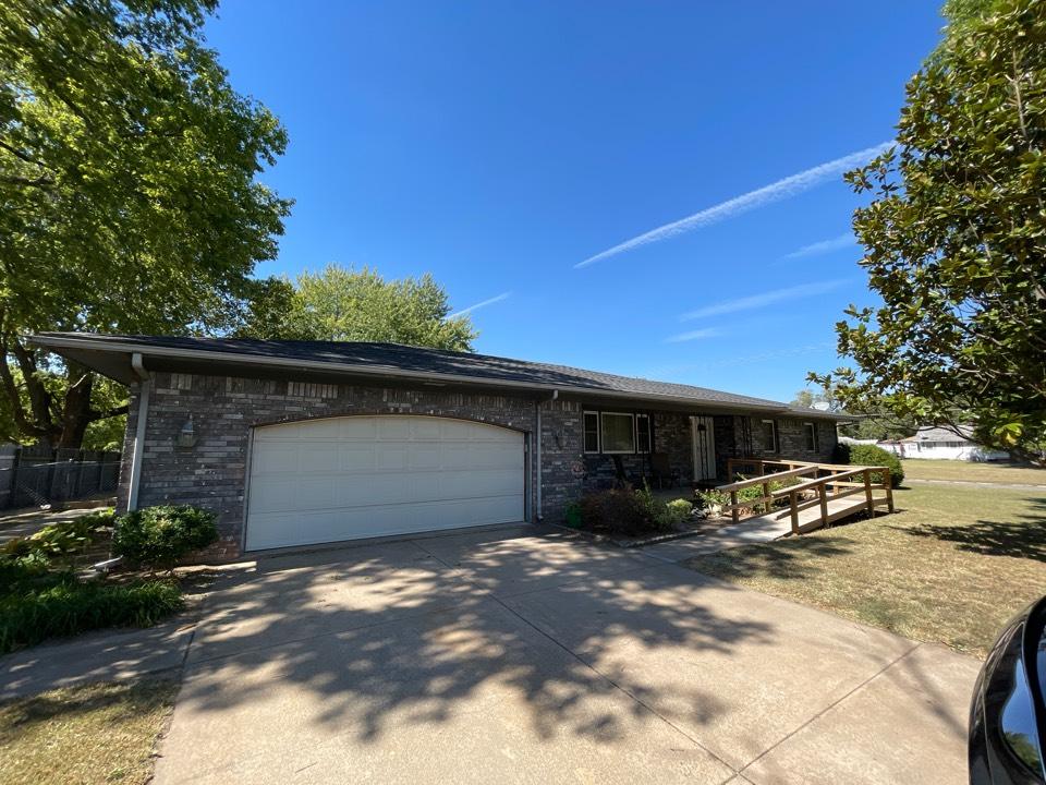 Wichita, KS - Roof, gutter, & fascia inspection and estimate.